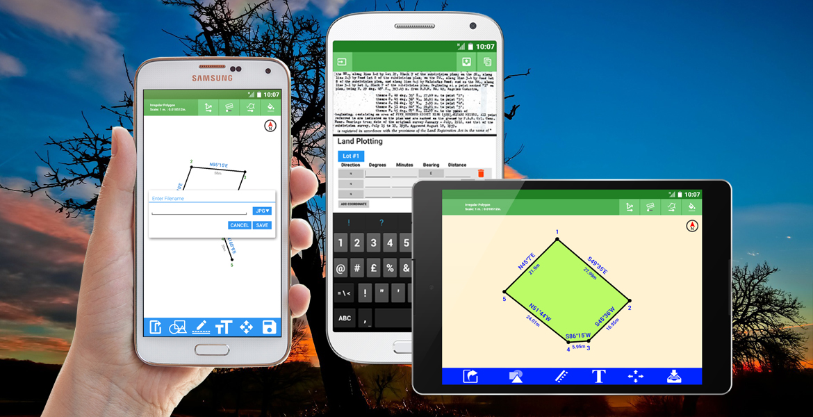 GDS Android Tablet/Phone/Phablet Real Estate Plotting
