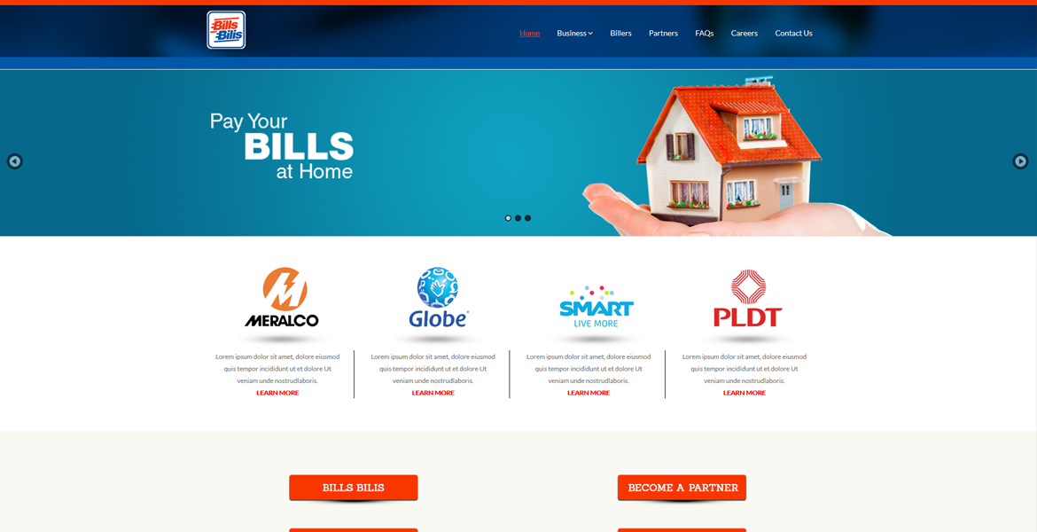 Bills Bilis International Website